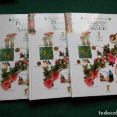 Libri di seconda mano: PLANTAS PARA LA SALUD 3 TOMOS. Lote 213659281