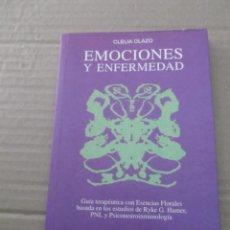 Libros de segunda mano: EMOCIONES Y ENFERMEDAD CLEIA OLAZO. Lote 213722306