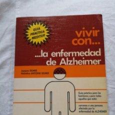 Libros de segunda mano: VIVIR CON LA ENFERMEDAD DEL ALZHEIMER JACQUES SELMES. Lote 213767937