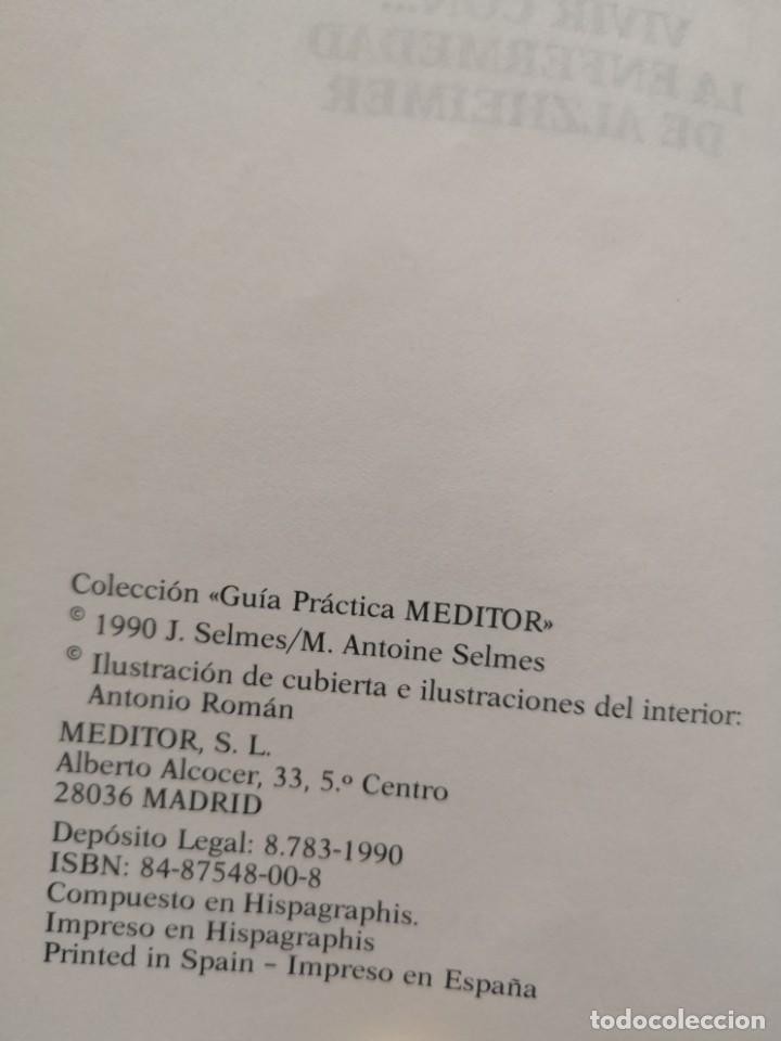 Libros de segunda mano: VIVIR CON LA ENFERMEDAD DEL ALZHEIMER JACQUES SELMES - Foto 2 - 213767937