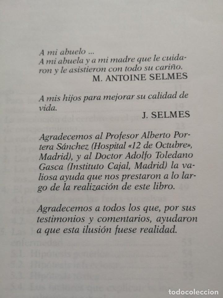 Libros de segunda mano: VIVIR CON LA ENFERMEDAD DEL ALZHEIMER JACQUES SELMES - Foto 3 - 213767937