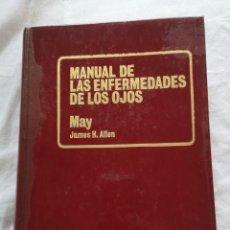 Libros de segunda mano: MANUAL DE LAS ENFERMEDADES DE LOS OJOS MAY JAMES H. ALLEN. Lote 213768152
