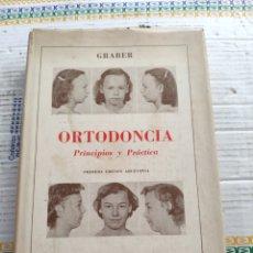 Libri di seconda mano: ORTODONCIA PRINCIPIOS Y PRÁCTICA (GRABER) (ED. MUNDI). Lote 213893421