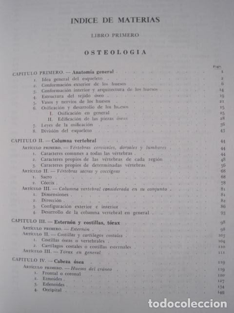 Libros de segunda mano: L. TESTUT, A. LATARJET. ANATOMÍA HUMANA. SALVAT. 4 TOMOS. PREMIO SAINTOUR. ILUSTRAN G. DEVY Y DUPRET - Foto 11 - 213995663