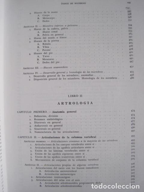 Libros de segunda mano: L. TESTUT, A. LATARJET. ANATOMÍA HUMANA. SALVAT. 4 TOMOS. PREMIO SAINTOUR. ILUSTRAN G. DEVY Y DUPRET - Foto 13 - 213995663
