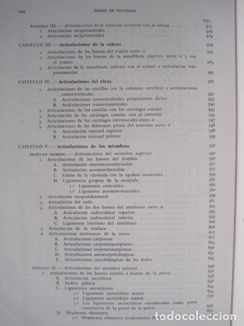 Libros de segunda mano: L. TESTUT, A. LATARJET. ANATOMÍA HUMANA. SALVAT. 4 TOMOS. PREMIO SAINTOUR. ILUSTRAN G. DEVY Y DUPRET - Foto 14 - 213995663