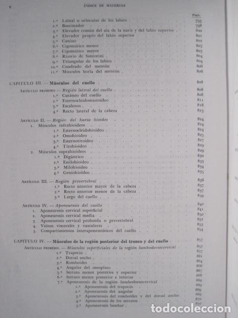 Libros de segunda mano: L. TESTUT, A. LATARJET. ANATOMÍA HUMANA. SALVAT. 4 TOMOS. PREMIO SAINTOUR. ILUSTRAN G. DEVY Y DUPRET - Foto 16 - 213995663
