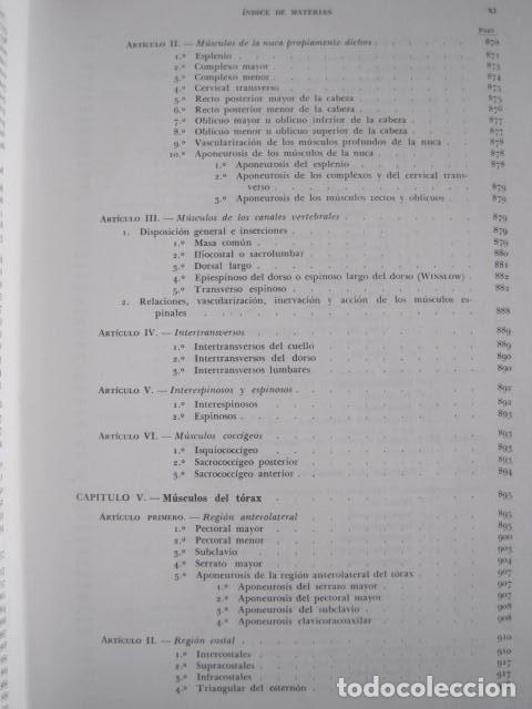 Libros de segunda mano: L. TESTUT, A. LATARJET. ANATOMÍA HUMANA. SALVAT. 4 TOMOS. PREMIO SAINTOUR. ILUSTRAN G. DEVY Y DUPRET - Foto 17 - 213995663