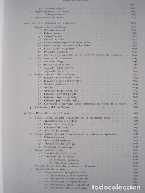Libros de segunda mano: L. TESTUT, A. LATARJET. ANATOMÍA HUMANA. SALVAT. 4 TOMOS. PREMIO SAINTOUR. ILUSTRAN G. DEVY Y DUPRET - Foto 19 - 213995663