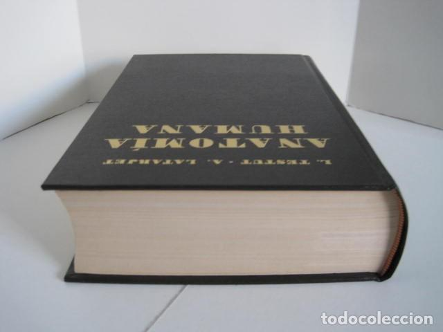 Libros de segunda mano: L. TESTUT, A. LATARJET. ANATOMÍA HUMANA. SALVAT. 4 TOMOS. PREMIO SAINTOUR. ILUSTRAN G. DEVY Y DUPRET - Foto 31 - 213995663