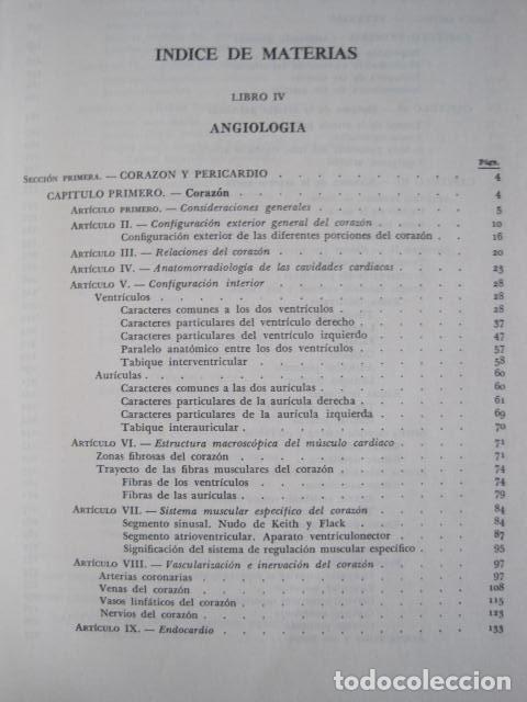Libros de segunda mano: L. TESTUT, A. LATARJET. ANATOMÍA HUMANA. SALVAT. 4 TOMOS. PREMIO SAINTOUR. ILUSTRAN G. DEVY Y DUPRET - Foto 37 - 213995663