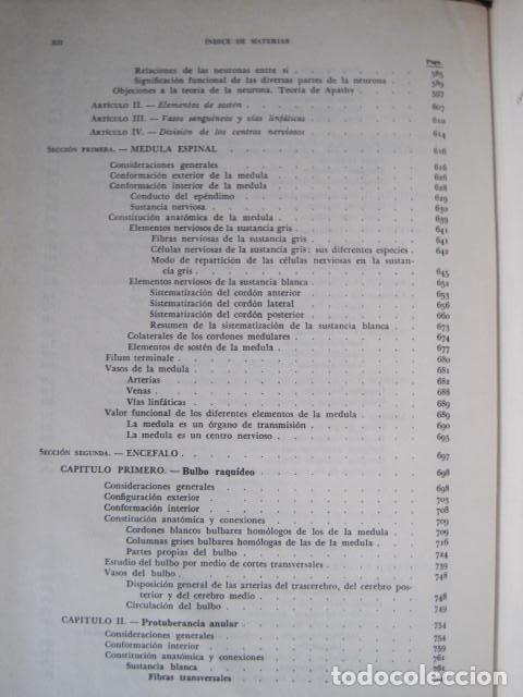 Libros de segunda mano: L. TESTUT, A. LATARJET. ANATOMÍA HUMANA. SALVAT. 4 TOMOS. PREMIO SAINTOUR. ILUSTRAN G. DEVY Y DUPRET - Foto 42 - 213995663
