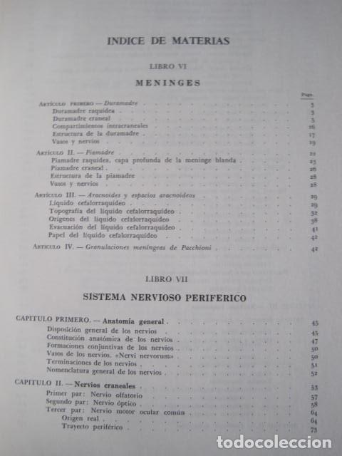 Libros de segunda mano: L. TESTUT, A. LATARJET. ANATOMÍA HUMANA. SALVAT. 4 TOMOS. PREMIO SAINTOUR. ILUSTRAN G. DEVY Y DUPRET - Foto 61 - 213995663