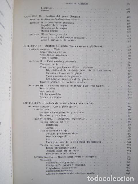 Libros de segunda mano: L. TESTUT, A. LATARJET. ANATOMÍA HUMANA. SALVAT. 4 TOMOS. PREMIO SAINTOUR. ILUSTRAN G. DEVY Y DUPRET - Foto 65 - 213995663