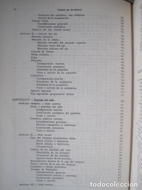 Libros de segunda mano: L. TESTUT, A. LATARJET. ANATOMÍA HUMANA. SALVAT. 4 TOMOS. PREMIO SAINTOUR. ILUSTRAN G. DEVY Y DUPRET - Foto 66 - 213995663