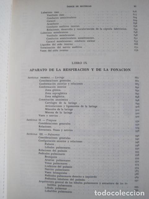 Libros de segunda mano: L. TESTUT, A. LATARJET. ANATOMÍA HUMANA. SALVAT. 4 TOMOS. PREMIO SAINTOUR. ILUSTRAN G. DEVY Y DUPRET - Foto 67 - 213995663