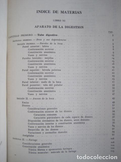 Libros de segunda mano: L. TESTUT, A. LATARJET. ANATOMÍA HUMANA. SALVAT. 4 TOMOS. PREMIO SAINTOUR. ILUSTRAN G. DEVY Y DUPRET - Foto 82 - 213995663