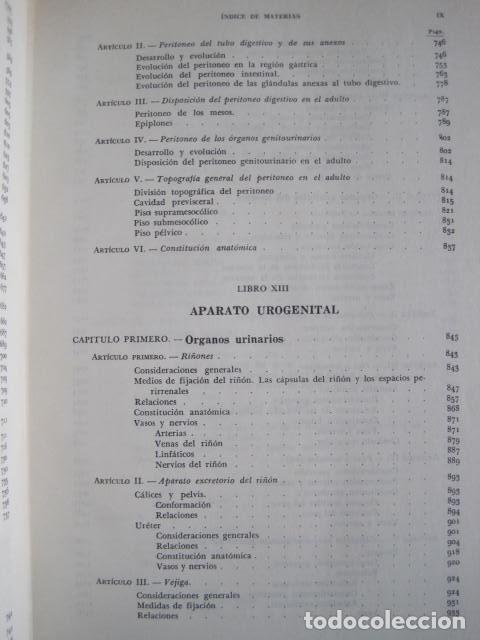 Libros de segunda mano: L. TESTUT, A. LATARJET. ANATOMÍA HUMANA. SALVAT. 4 TOMOS. PREMIO SAINTOUR. ILUSTRAN G. DEVY Y DUPRET - Foto 86 - 213995663