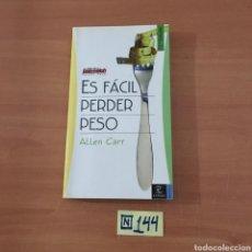 Libros de segunda mano: ES FÁCIL PERDER PESO. Lote 214187225