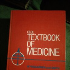 Libros de segunda mano: CECIL TEXTBOOK OF MEDICINE. WYNGAARDEN AND SMITH, SAUNDERS. SINGLE VOLUME. PHILADELPHIA. Lote 214721933