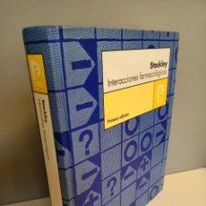Libros de segunda mano: INTERACCIONES FARMACOLOGICAS, IVAN H. STOCKLEY, MEDICINA / MEDICINE, PHARMA EDITORES, 2004. Lote 214741993