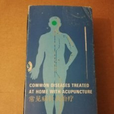 Libros de segunda mano: COMMON DISEASES TREATED AT HOME WITH ACUPUNCTURE (SHANDONG SCIENCE AND TECHNOLOGY PRESS). Lote 214825036