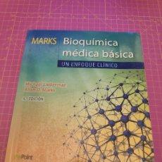 Libros de segunda mano: BIOQUÍMICA MÉDICA BÁSICA: UN ENFOQUE CLÍNICO - LIEBERMAN - MARKS - 4ª ED. - EDITORIAL LWW. Lote 214867873
