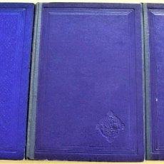 Libros de segunda mano: LECCIONES DE FISIOLOGÍA ESPECIAL - J. GARCÍA BLANCO - TRES TOMOS - EDITORIAL SABER - VALENCIA 1953. Lote 215302268