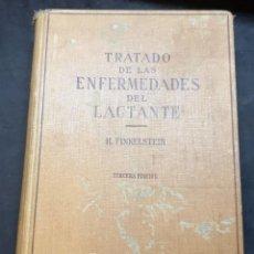 Libros de segunda mano: TRATADO DE LAS ENFERMEDADES DEL LACTANTE - 3ª EDICION - 1941. 25 CM. XV, 919 P. Lote 215870331