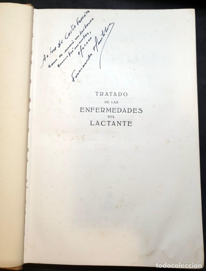 Libros de segunda mano: Tratado de las enfermedades del lactante - 3ª EDICION - 1941. 25 cm. XV, 919 p - Foto 2 - 215870331