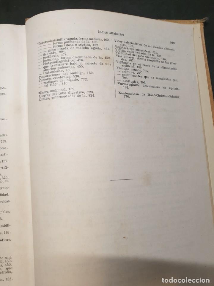Libros de segunda mano: Tratado de las enfermedades del lactante - 3ª EDICION - 1941. 25 cm. XV, 919 p - Foto 11 - 215870331