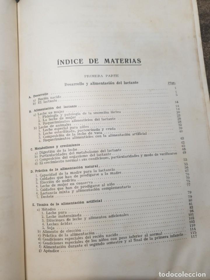 Libros de segunda mano: Tratado de las enfermedades del lactante - 3ª EDICION - 1941. 25 cm. XV, 919 p - Foto 18 - 215870331