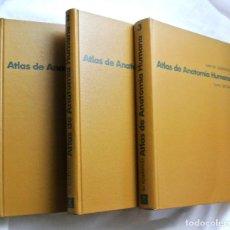 Libri di seconda mano: LIBRO ATLAS DE ANATOMIA HUMANA , 3 TOMOS, WERNER SPALTEHOLZ. Lote 216687412