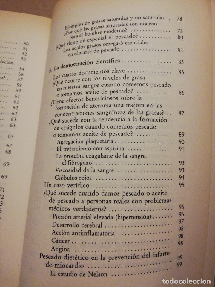 Libros de segunda mano: LA DIETA DEL ESQUIMAL (DRS. REG SAYNOR Y FRANK RYAN) - Foto 5 - 217534882