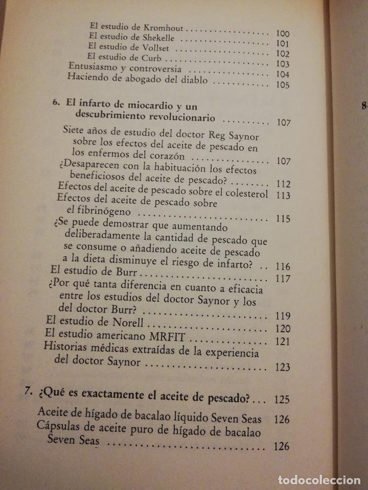 Libros de segunda mano: LA DIETA DEL ESQUIMAL (DRS. REG SAYNOR Y FRANK RYAN) - Foto 6 - 217534882