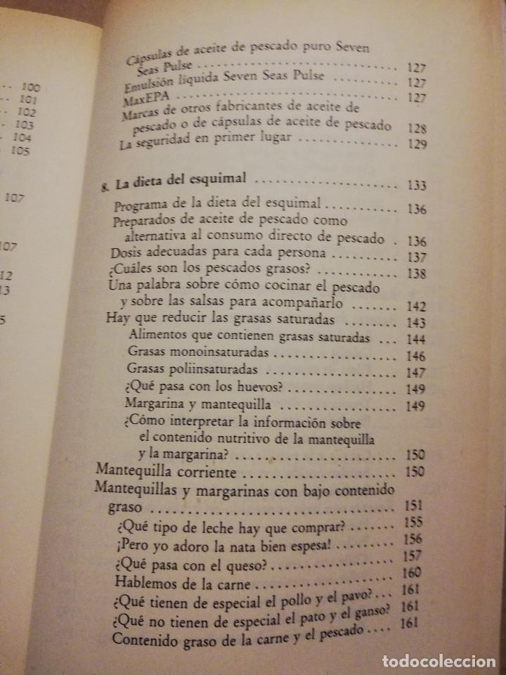 Libros de segunda mano: LA DIETA DEL ESQUIMAL (DRS. REG SAYNOR Y FRANK RYAN) - Foto 7 - 217534882