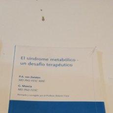 Libros de segunda mano: C-3 LIBRO NUEVO PRECINTADO EL SINDROME METABOLICO UN DESAFIO TERAPEUTICO. Lote 218053440