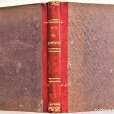 Libros de segunda mano: GUÍA DEL HOMEÓPATA O TRATAMIENTO DE MAS DE MIL ENFERMEDADES - A. J. T. RUOFF - MADRID AÑO 1846. Lote 218395993
