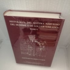 Livres d'occasion: HISTOLOGÍA DEL SISTEMA NERVIOSO DEL HOMBRE Y DE LOS VERTEBRADOS. TOMO I. Lote 218358893
