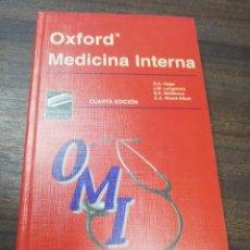 Libros de segunda mano: OXFORD. MEDICINA INTERNA. CUARTA EDICION. MARBAN. 1998.. Lote 219064055