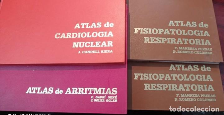 4 ATLAS MEDICOS (Libros de Segunda Mano - Ciencias, Manuales y Oficios - Medicina, Farmacia y Salud)