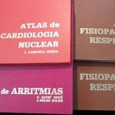 Libros de segunda mano: 4 ATLAS MEDICOS. Lote 219438315