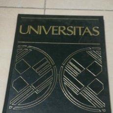 Libros de segunda mano: UNIVERSITAS. EL HOMBRE:DESARROLLO. SALVAT EDITORES. 1988. TAPA DURA. ILUSTRADO. VER. 784 PAGINAS. Lote 219580651