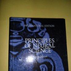 Libros de segunda mano: PRINCIPLES OF NEURAL SCIENCE, FOURTH EDITION, VVAA, INTERNACIOTAL EDITION, ED. MCGRAW-HILL. Lote 220957998