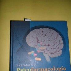 Libros de segunda mano: TRATADO DE PSICOFARMACOLOGÍA, ALAN F. SCHATZBERG, CHARLES B. NEFEROFF, ED. MASSON. Lote 220958217
