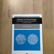 Livres d'occasion: MANUAL DE PARASITOLOGÍA. JAIME GÁLLEGO. Lote 221677885