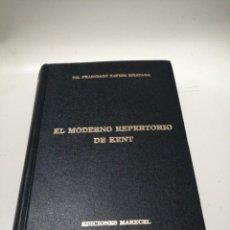 Libri di seconda mano: EL MODERNO REPERTORIO DE KENT - DR. FRANCISCO XAVIER EIZAYAGA. Lote 221724951