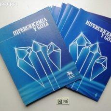 Libros de segunda mano: HIPERURICEMIA Y GOTA. Lote 222292080