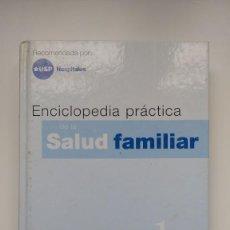 Libros de segunda mano: ENCICLOPEDIA PRÁCTICA SALUD FAMILIAR - Nº 1, VITAMINA A / ANOREXIA - EDITORIAL SALVAT. Lote 222574611