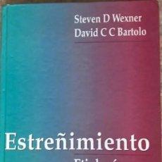 Libros de segunda mano: LIBRO ESTREÑIMIENTO - ETIOLOGÍA DIAGNÓSTICO Y TRATAMIENTO STEVEN D WEXNER Y DAVID C BARTOLO MEDICINA. Lote 169358572